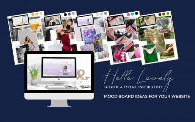 Hello Lovely Website Moodboard Inspiration
