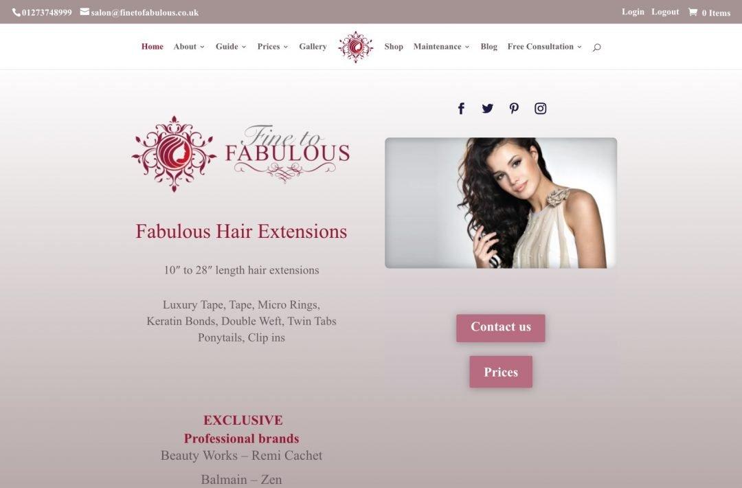 Fine to Fabulous Hair